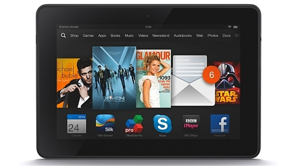 Best 5 Kindle Fire HDX Apps