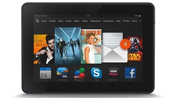 Amazon Kindle Fire HDX apps