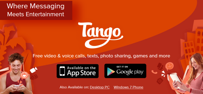 Tango android app