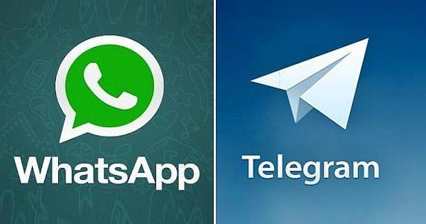 Telegram Messenger vs WhatsApp App | MessengerApps net