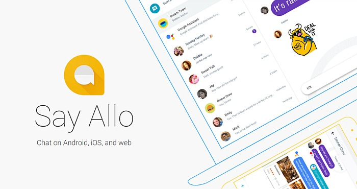 Downoad Allo Messaging App Today!