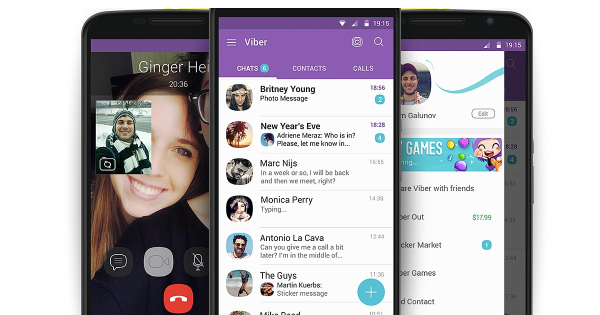 Viber Messenger Flaunts Newer Features with its Latest 2019 Update